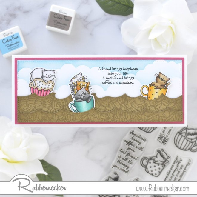 Rubbernecker Blog Coffee-and-Cat-Friends-Slimline-Card-by-Annie-Williams-for-Rubbernecker-1000x1000