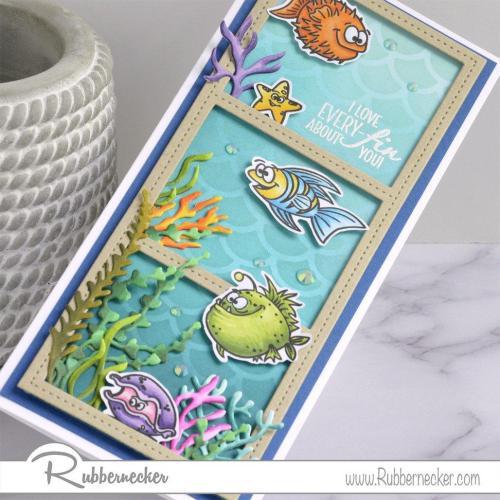 Rubbernecker Blog Happy-Fish-Slimline-Card-by-Annie-Williams-for-Rubbernecker-Detail-500x500