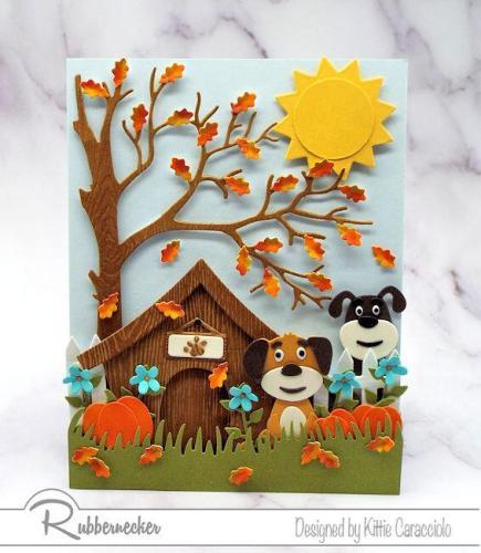 Rubbernecker Blog 5414-01D-5414-02D-5415-03D-Doghouse-Dogs-and-Pumpkins-435x500