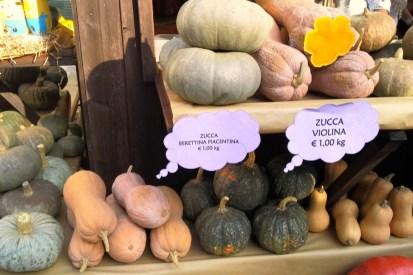 This little pumpkin went to market...