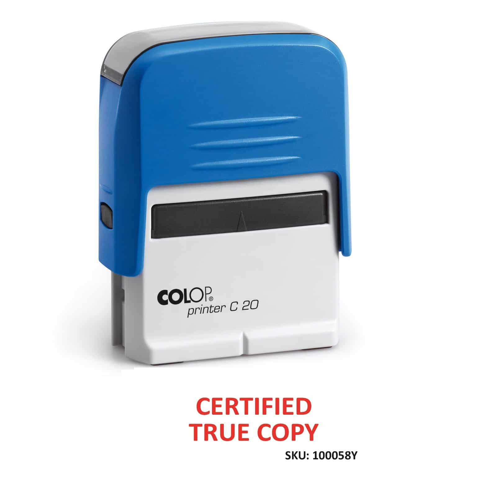 Office Copy Self Inking Rubber Stamp