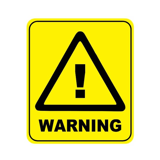 Image result for caution sign""