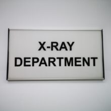 Large office sign