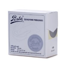 embossing seal stickers silver