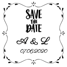 wedding invitation stamp