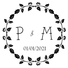 Wedding Invite Stamp