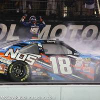 NXS: Busch wins Food City 300, second perfect race of weekend.