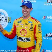 MENCS: Logano Earns Fifth Pole at Martinsville Speedway