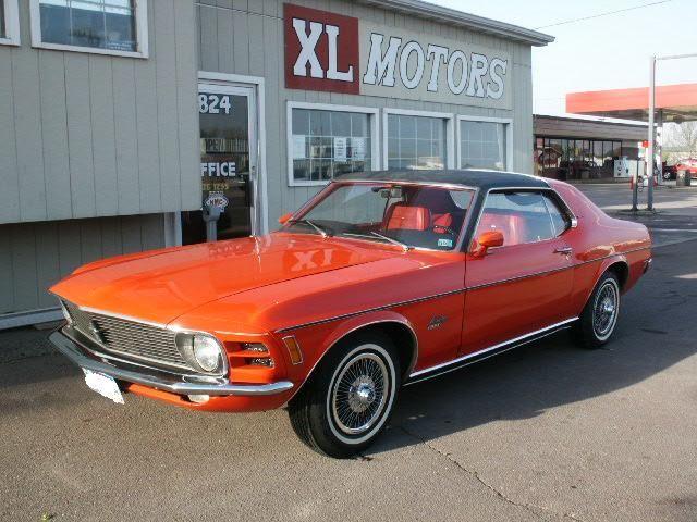My beloved Ford Mustang Grandé - 1970 (6/6)