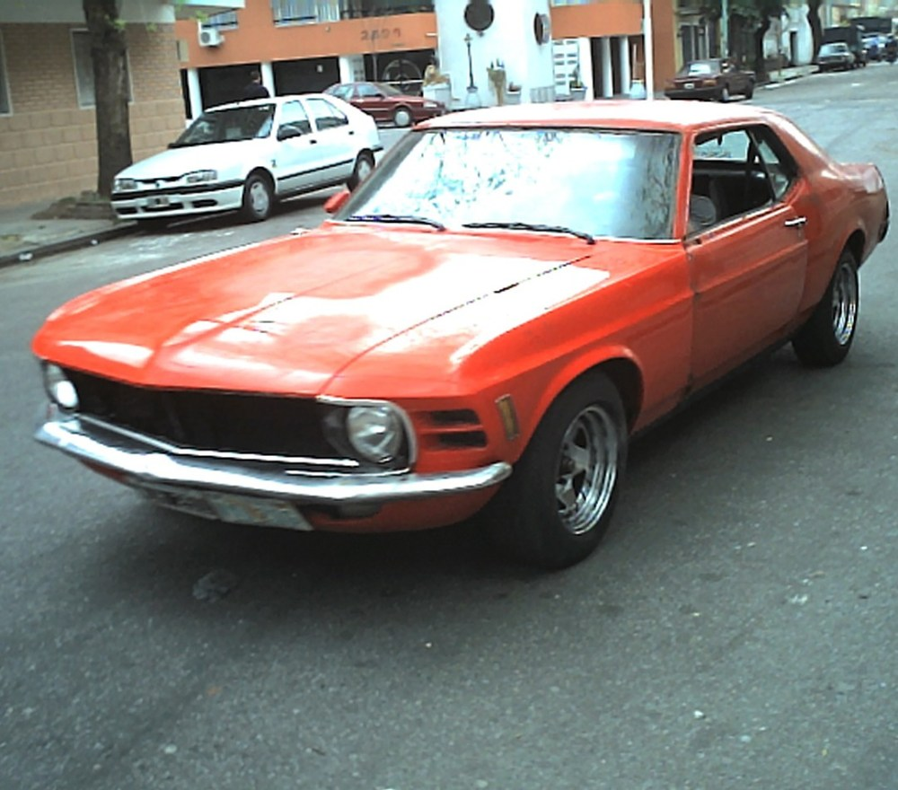 My beloved Ford Mustang Grandé - 1970 (1/6)
