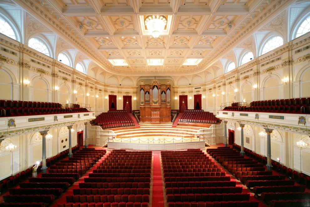 Debuut Grote zaal concertgebouw