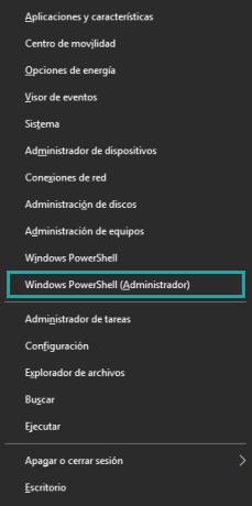 Windows 10 Win-X Menu