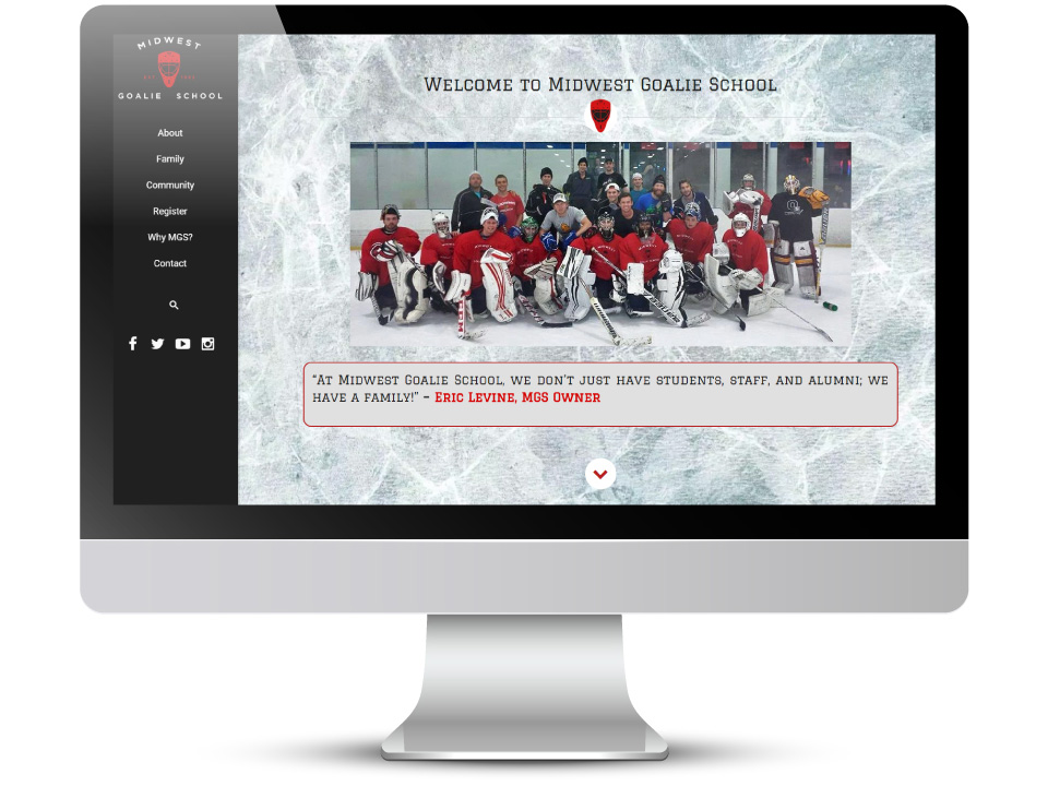 Work - Case Studies - Midwest Goalie School