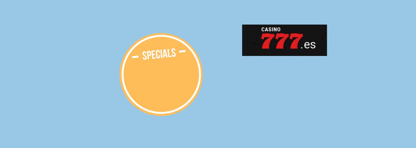 ¿Cuál es el bono actual de Casino 777_ rubengrcgrc