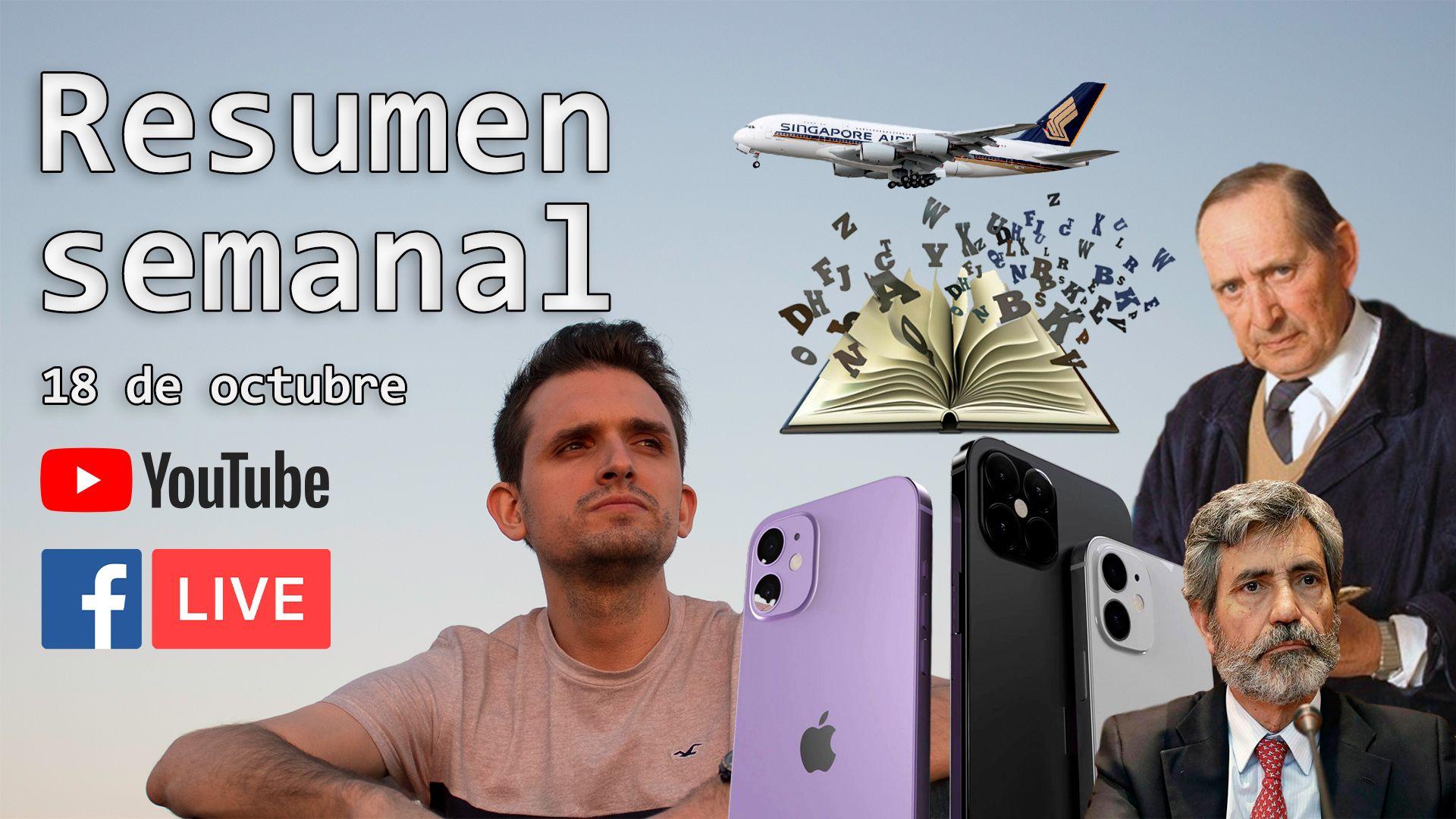 Nuevos iPhone, reforma judicial y Miguel Delibes