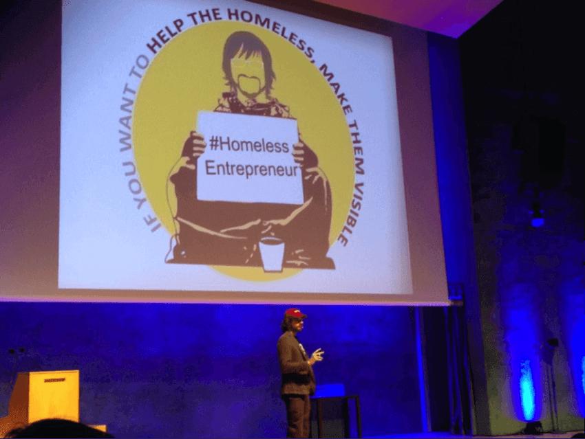 Ponencia de Andrew Funk Homeless Entrepreneur