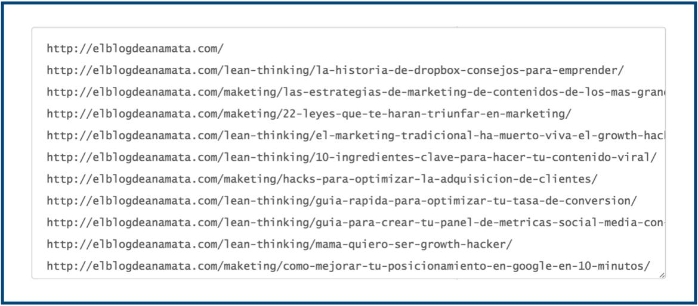 herramienta para limpiar URL