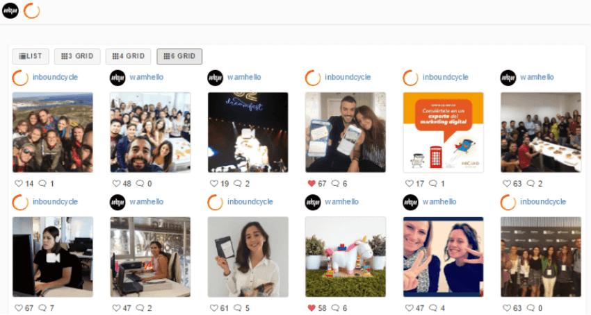 herramienta analizar competencia en instagram