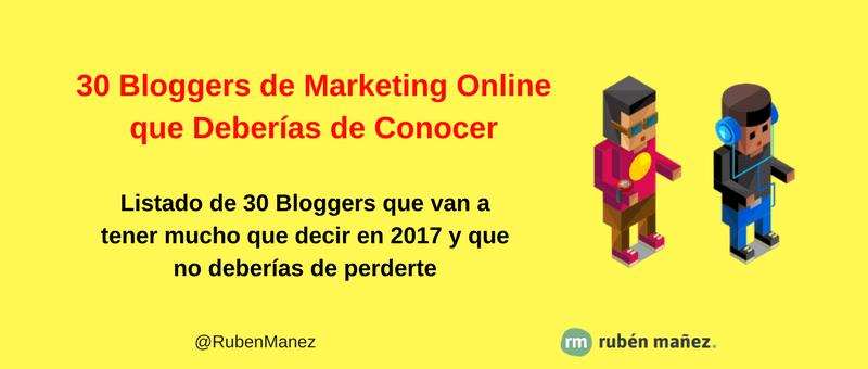 bloggers marketing digital español