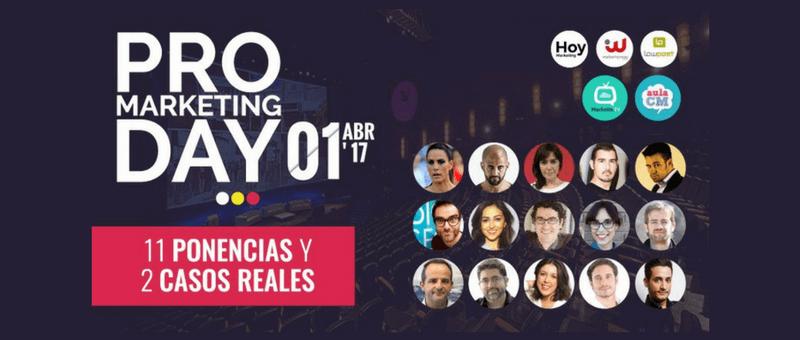 PRO Marketing Day: 6 Razones por las que YO voy a ir al Evento PMD
