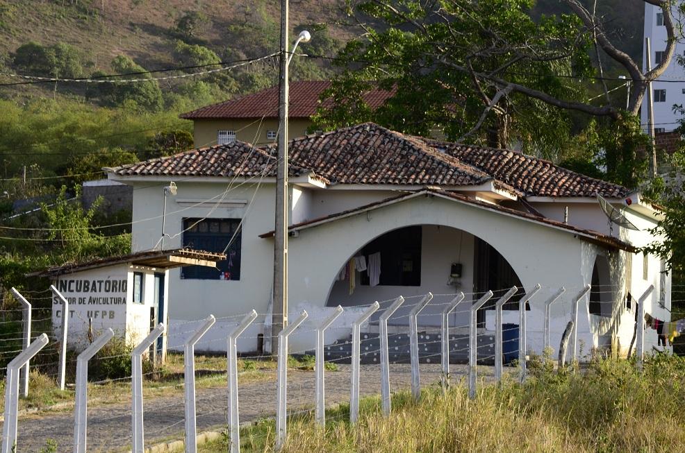 Casa do antigo Posto Agropecuário, hoje residência universitária do Campus da UFPB em Bananeiras