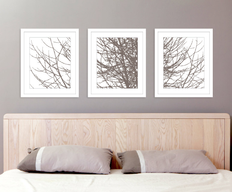 20 Inspirations of Bedroom Wall Art