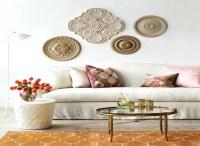 20 Ideas of Ceiling Medallion Wall Art