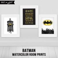 16 Best Ideas of Batman Wall Art