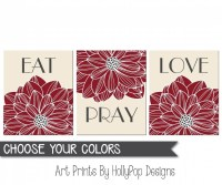 Eat Pray Love Wall Decor - Wall Design Ideas