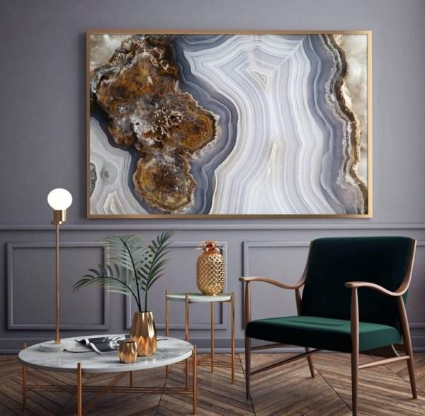 Ideas Of Agate Wall Art