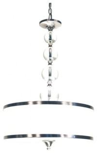 10 Ideas of Brushed Nickel Drum Pendant Lighting