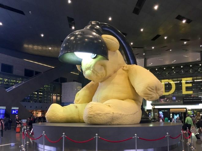 the lamp bear