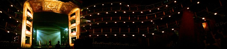 "The Teatro Español (""Spanish Theater""--real original name guys) in Madrid."