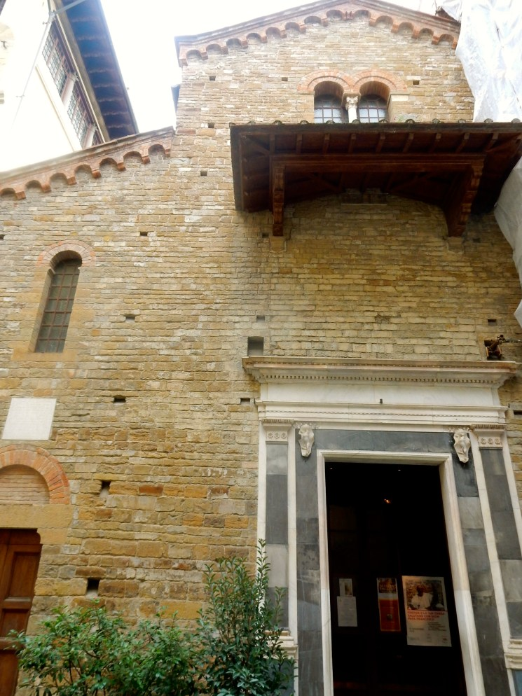 Medieval church that's somehow survived Florence's many floods