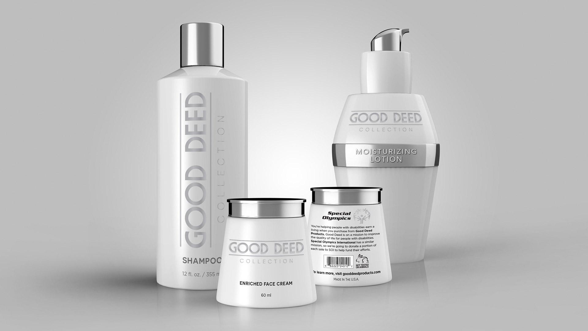 Good Deed Product Mockups – Rubicon Marketing
