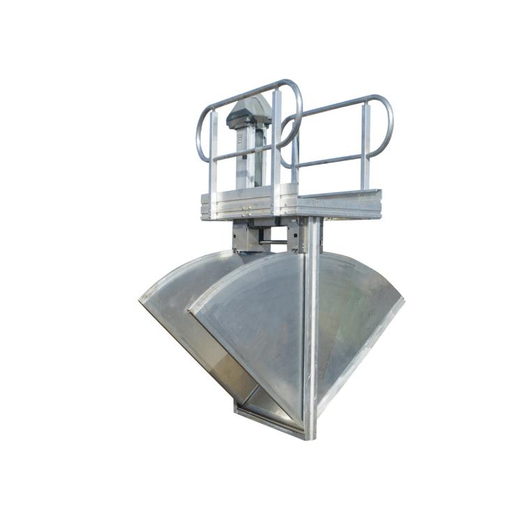 FlumeGate Overshot Integrated Flow Control Gate and Meter