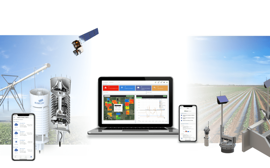 FarmConnect™ featured in the latest volume of the Irrigation Leader – USA