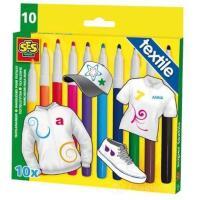 10 Pennarelli per Tessuto (2202061) - Disegno e colori ...
