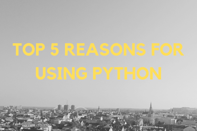 5 Reasons Why Python Is Popular in Bitcoin Projects in 2019