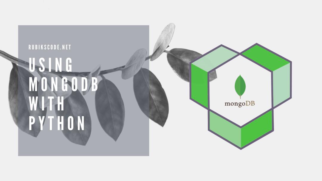 Using MongoDB in Python