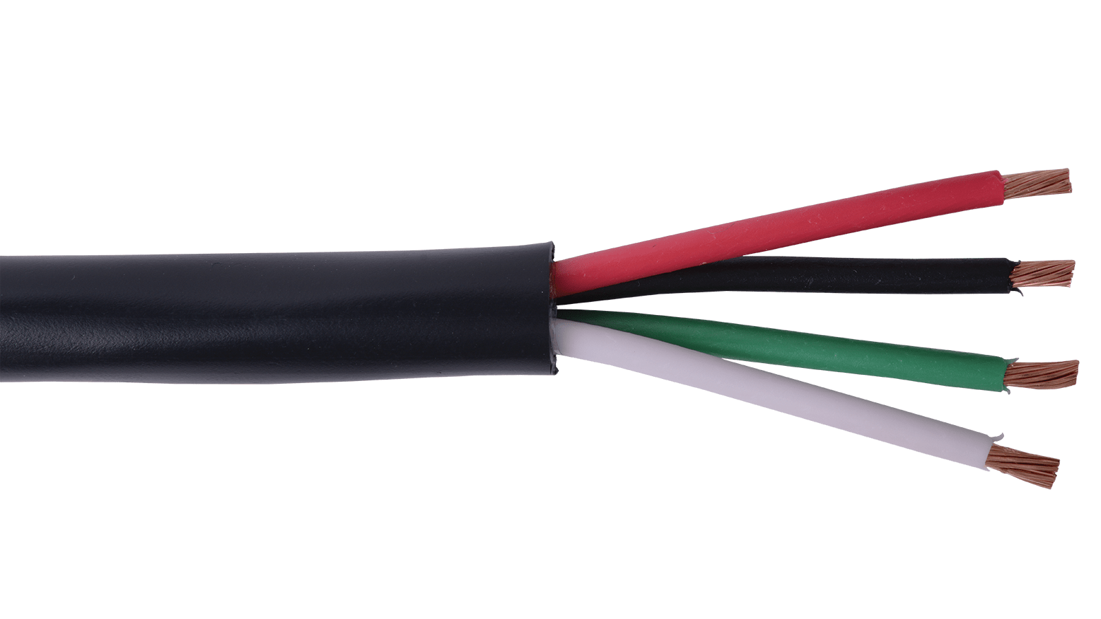16-4C-DB-BLK - Direct Burial Speaker Cable 16 AWG 4-Conductor Cable