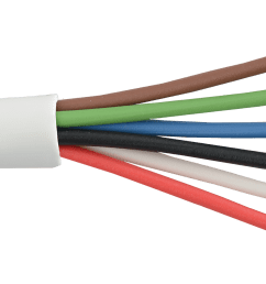 commercial grade general purpose 22 awg 6 conductor cable  [ 1600 x 900 Pixel ]