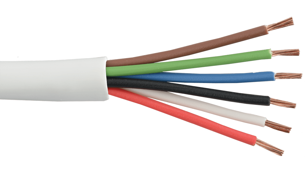 medium resolution of commercial grade general purpose 22 awg 6 conductor cable