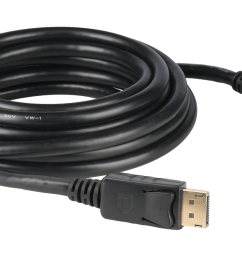 displayport molded awm rated interconnection cables  [ 1600 x 900 Pixel ]