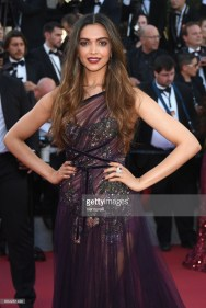 Deepika Padukone attends the Ismael's Ghosts (Les Fantomes d'Ismael) screening and Opening Gala during the 70th annual Cannes Film Festival at Palais des Festivals on May 17, 2017 in Cannes, France