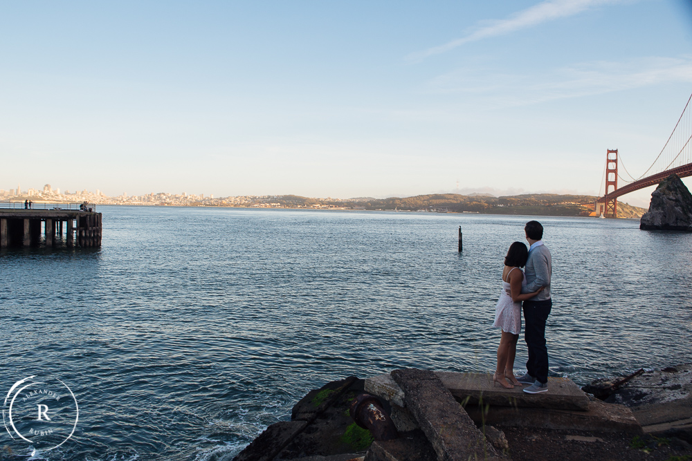 San Francisco Engagement Session Of Jillian And Tom