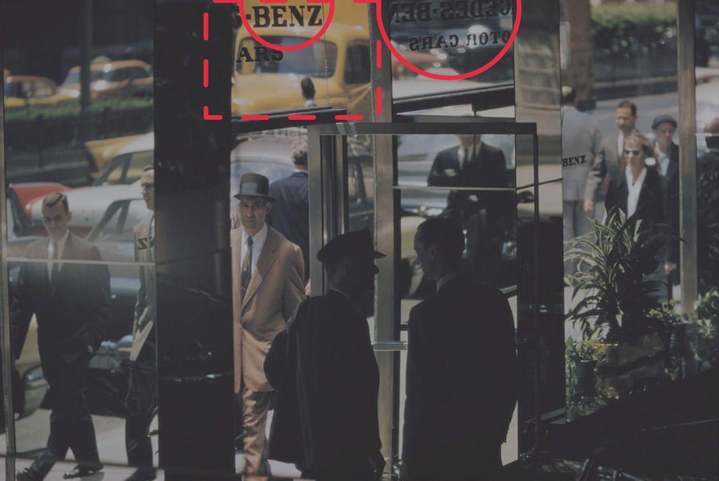 Análisis de una fotografía de calle de Ernst Haas.