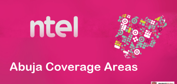 ntel NG 4G LTE coverage areas in Abuja