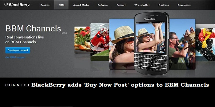 Blackberry Buy Now Option