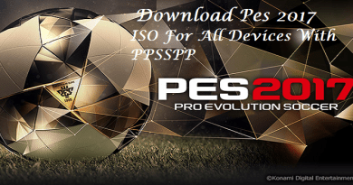 Download Pes 2017 ISO For All Devices With PPSSPP